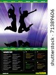 event website | Shutterstock .eps vector #71389606