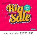 sale banner template design ...   Shutterstock .eps vector #713931958