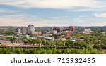 downtown colorado springs | Shutterstock . vector #713932435