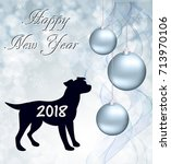 new year abstract background... | Shutterstock .eps vector #713970106