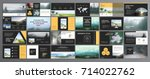 original presentation... | Shutterstock .eps vector #714022762