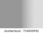 black and white dotted halftone ... | Shutterstock .eps vector #714043942
