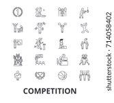 competition  winnter  award ...   Shutterstock .eps vector #714058402