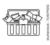 tool box icon | Shutterstock .eps vector #714079342