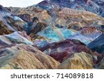 death valley national park | Shutterstock . vector #714089818