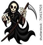 vector illustration of a... | Shutterstock .eps vector #714117925