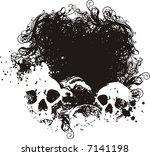 fear background vector... | Shutterstock .eps vector #7141198