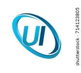 letter ui logotype design for...