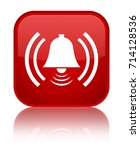 alarm icon isolated on special...   Shutterstock . vector #714128536