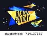 banner with text black friday ...