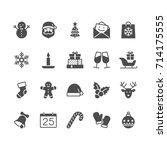 Christmas Flat Icons