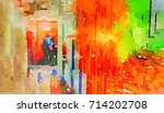 abstract colorful tone for...   Shutterstock . vector #714202708