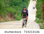 amateur bike athletes make the... | Shutterstock . vector #714213136