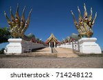 temple  temple or monastery is...   Shutterstock . vector #714248122