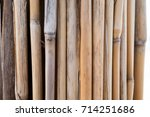 the texture of the dry reeds.... | Shutterstock . vector #714251686