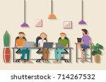 vector illustration of... | Shutterstock .eps vector #714267532