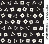 seamless primitive jumble... | Shutterstock .eps vector #714272362