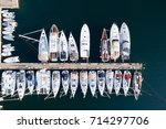 Deatil Of Pier With Boats And...