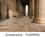 Impressive Sandstone Columns On ...