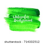 watercolor paint. hand painted... | Shutterstock .eps vector #714332512