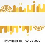 modern abstract shapes. design... | Shutterstock .eps vector #714336892