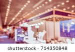 abstract blur shopping mall or... | Shutterstock . vector #714350848