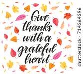 vector hand drawn motivational... | Shutterstock .eps vector #714364396
