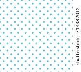seamless vector pattern. polka... | Shutterstock .eps vector #714382012