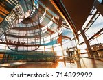berlin  germany   august 25... | Shutterstock . vector #714392992