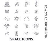 space  star  planet  spaceship  ...   Shutterstock .eps vector #714397495