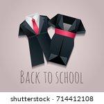 vector illustration of children'... | Shutterstock .eps vector #714412108