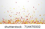 white background with red and... | Shutterstock .eps vector #714470332