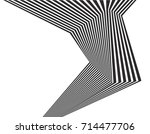 black and white stripe line... | Shutterstock .eps vector #714477706