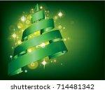christmas  new year  christmas... | Shutterstock .eps vector #714481342