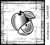Retro Apple Black And White....
