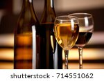 wine. | Shutterstock . vector #714551062
