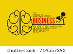 business idea vector | Shutterstock .eps vector #714557392