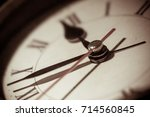 clock. | Shutterstock . vector #714560845