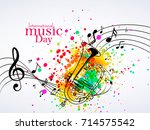 nice and beautiful abstract for ... | Shutterstock .eps vector #714575542