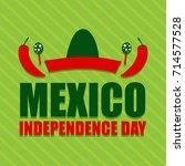illustration for mexico... | Shutterstock .eps vector #714577528
