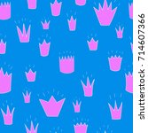 pink crowns of different shapes