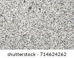 bright hard grey granite rock... | Shutterstock . vector #714624262