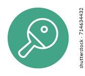 table tennis | Shutterstock .eps vector #714634432