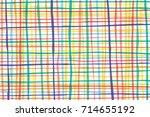 colorful vertical   horizontal... | Shutterstock . vector #714655192