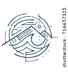 hand drawn vector illustration...   Shutterstock .eps vector #714657325