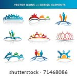 people and community icon pack | Shutterstock .eps vector #71468086