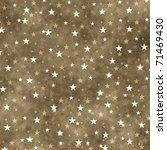 Grunge Illustration With Stars