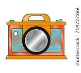 photographic camera icon image | Shutterstock .eps vector #714727366
