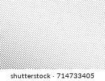 black and white dotted halftone ... | Shutterstock .eps vector #714733405