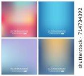 abstract creative concept... | Shutterstock .eps vector #714734392